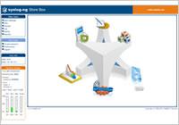 Syslog-ng Store Box画面例
